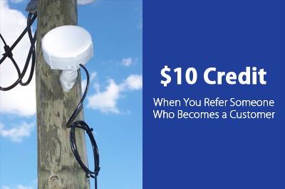 $10 Credit - When You Refer Someone Who Becomes a Customer